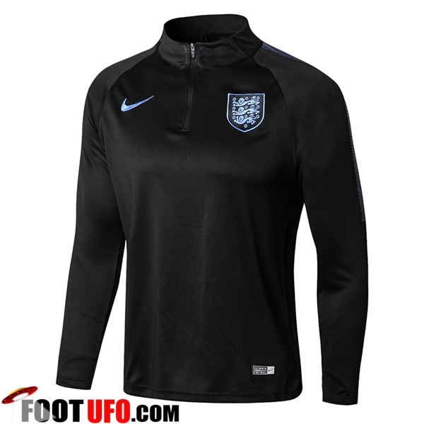 Sweatshirt Training Angleterre Noir 2018/2019