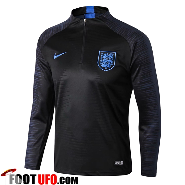 Sweatshirt Training Angleterre Strike Drill Noir 2018/2019