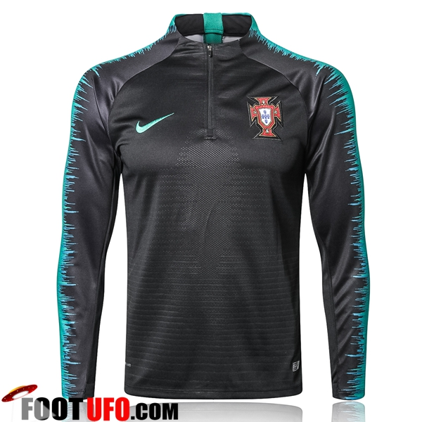 Sweatshirt Training Portugal Strike Drill Noir 2018/2019