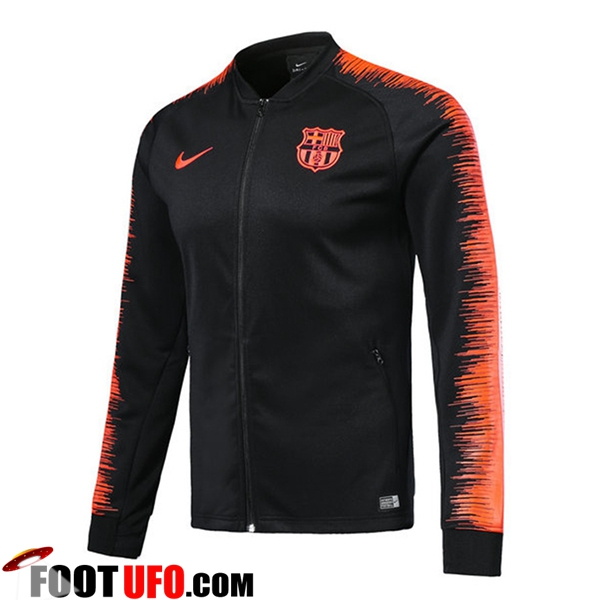 Veste Foot Barcelone Noir/Orange 2018/2019
