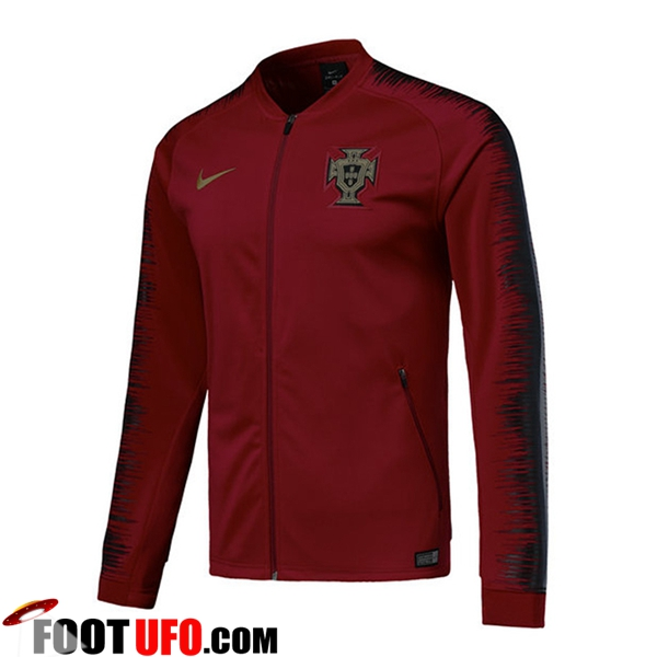 Veste Foot Portugal Rouge 2018/2019