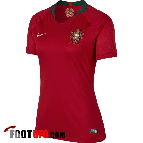 nouveau maillot foot equipe de portugal 2018 2019 femme domicile achat fiable. Black Bedroom Furniture Sets. Home Design Ideas