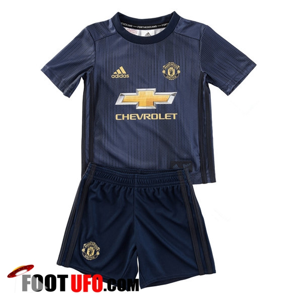 Maillot de Foot Manchester United Enfants Third 2018/2019