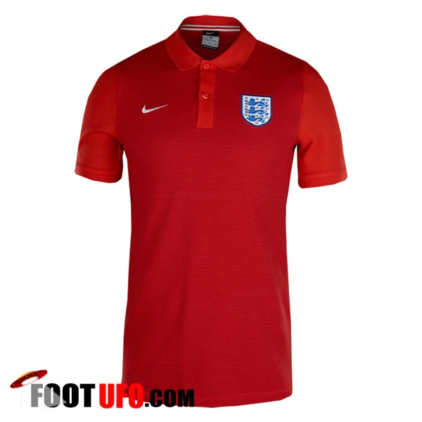 Polo Foot Angleterre Rouge 2018/2019