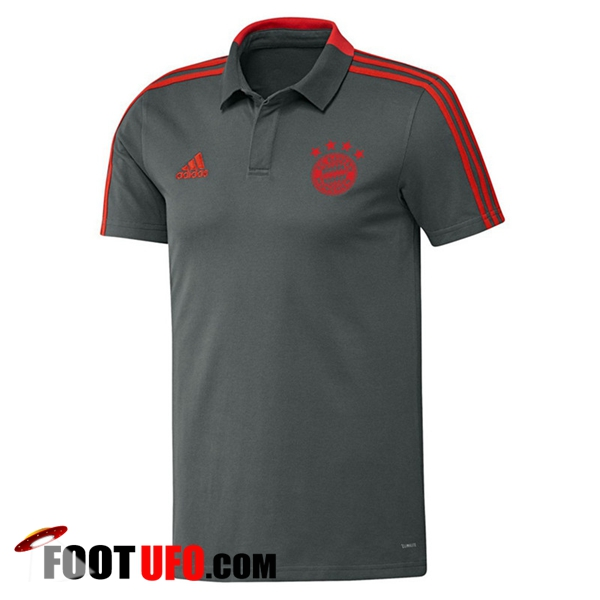 Polo Foot Bayern Munich Gris 2018/2019