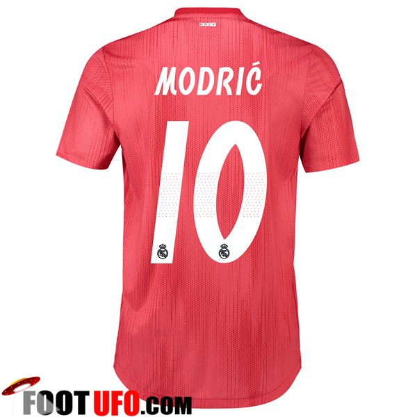 Maillot de Foot Real Madrid (10 MODRIC) Third 2018/2019