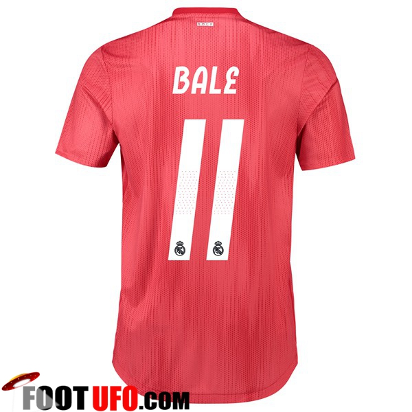 Maillot de Foot Real Madrid (11 BALE) Third 2018/2019