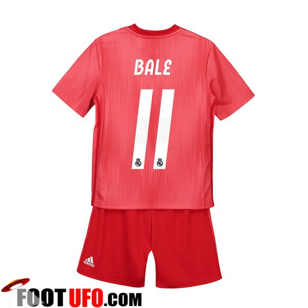 Maillot Real Madrid (11 BALE) Enfants Third 2018/19