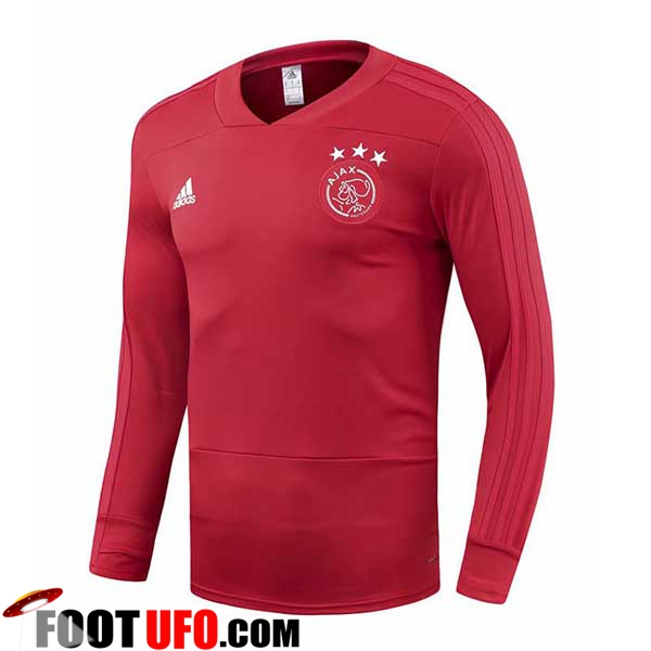 Sweatshirt Training AFC Ajax Rouge 2018/2019