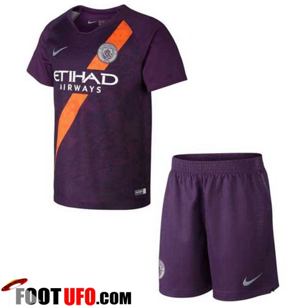 Maillot de Foot Manchester City Enfants Third 2018/2019