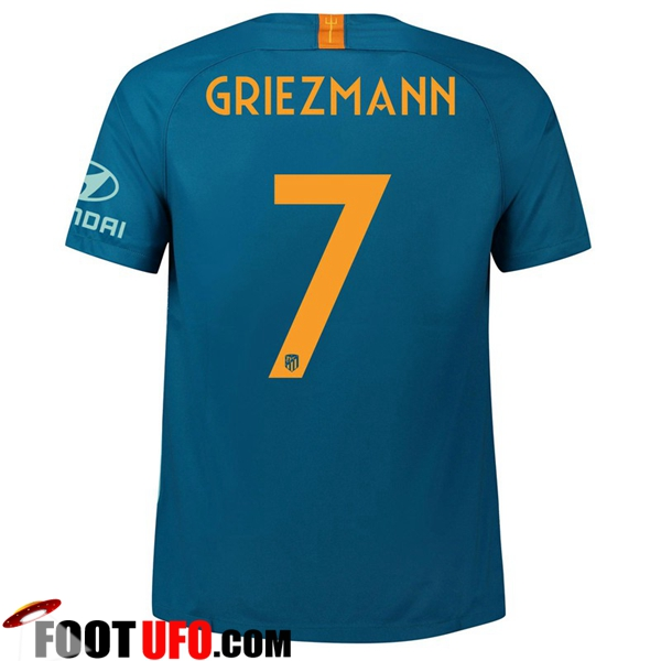 Maillot de Foot Atletico Madrid (7 GRIEZMANN) Third 2018/2019