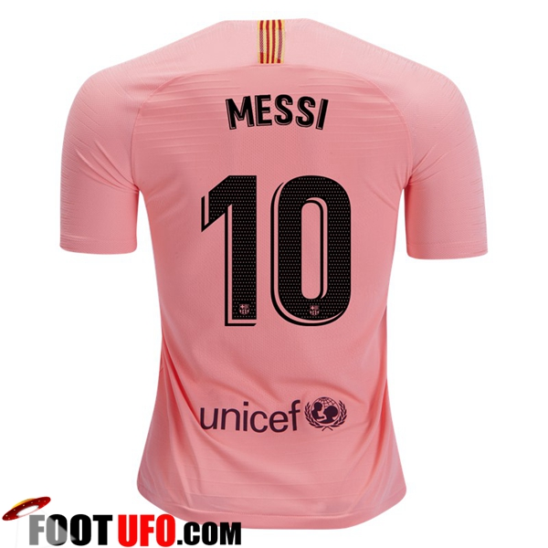 Maillot de Foot FC Barcelone (10 MESSI) Third 2018/2019