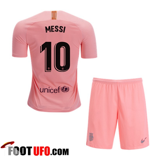 Maillot FC Barcelone (10 MESSI) Enfants Third 2018/19