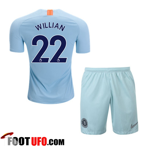 Maillot FC Chelsea (WILLIAN 22) Enfants Third 2018/19