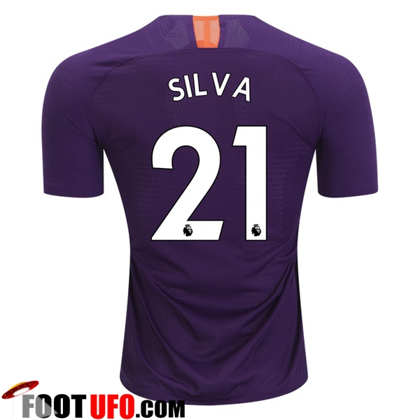 Maillot de Foot Manchester City (21 SILVA) Third 2018/2019