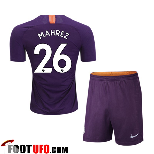 Maillot Manchester City (26 MAHREZ) Enfants Third 2018/19
