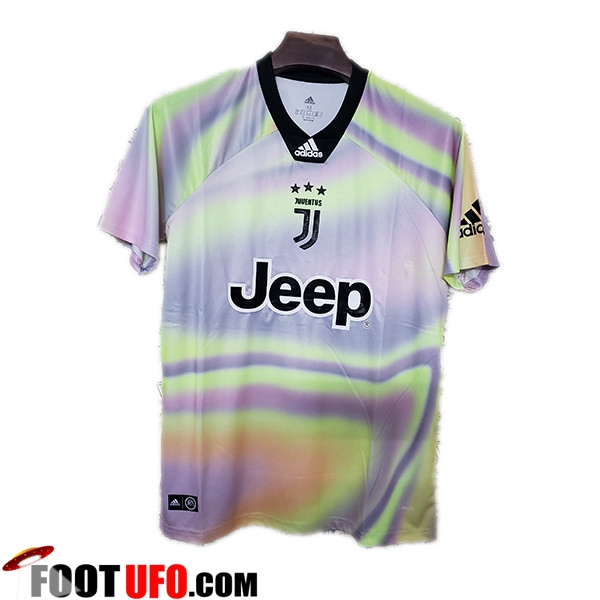 Maillot de Foot Juventus Adidas X EA Sports Limited Edition Blanc/Jaune
