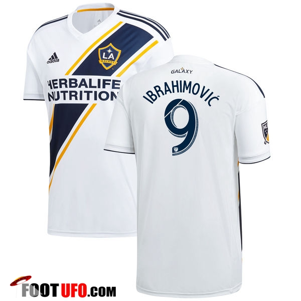 Maillot de Foot LA Galaxy (Ibrahimovic 9) Domicile 2018/2019