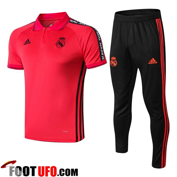 Ensemble Polo Real Madrid + Pantalon Rouge 2019/2020