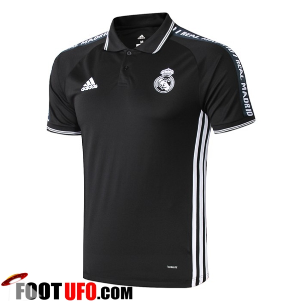 Polo Foot Real Madrid Noir 2019/2020