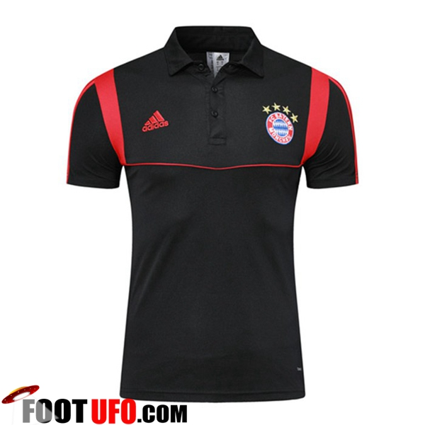 Polo Foot Bayern Munich Noir 2019/2020