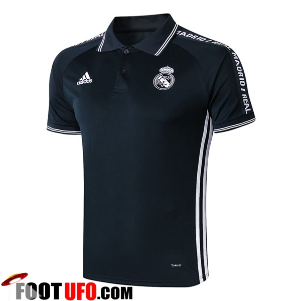 Polo Foot Real Madrid Gris Fonce 2019/2020