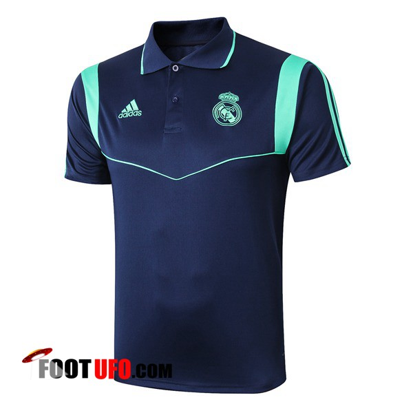 Polo Foot Real Madrid Bleu Fonce 2019/2020