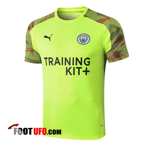 Training T-Shirts Manchester City Vert 2019/2020