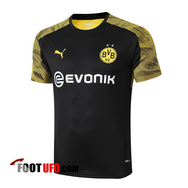 Training T-Shirts Dortmund BVB Noir 2019/2020