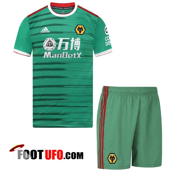 Maillot de Foot Wolves Enfants Third 2019/2020