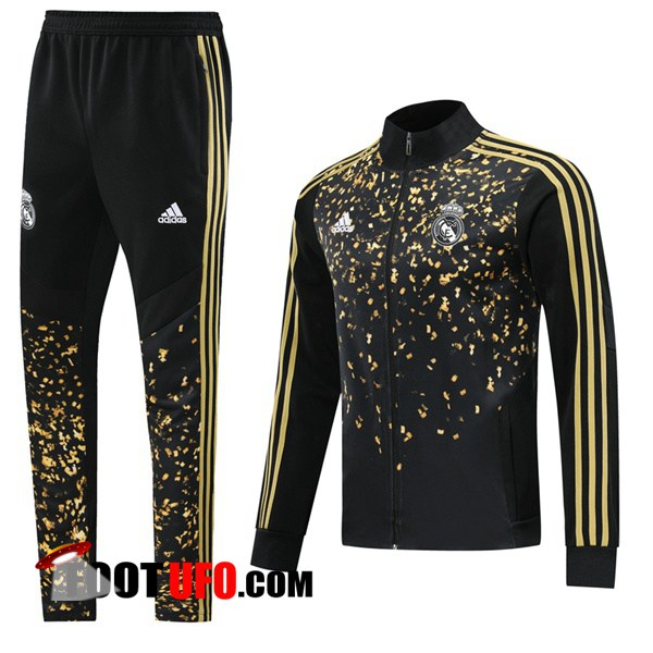 Nouveaux: 11Foots-fr Ensemble Survetement Foot - Veste Real Madrid Adidas × EA Sports™ FIFA 20 Noir 2019/2020