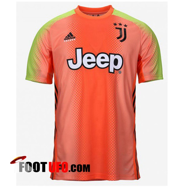 Maillot de Foot Juventus Adidas × Palace Edition Gardien de but Orange 2019/2020