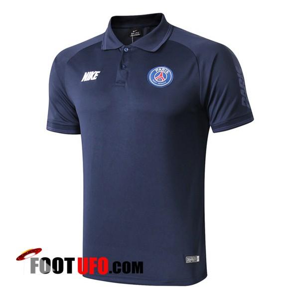 Nouveau Polo Foot Paris PSG NIKE Bleu Fonce 201920
