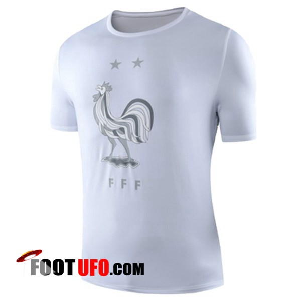 Training T-Shirts France Blanc 2019/2020