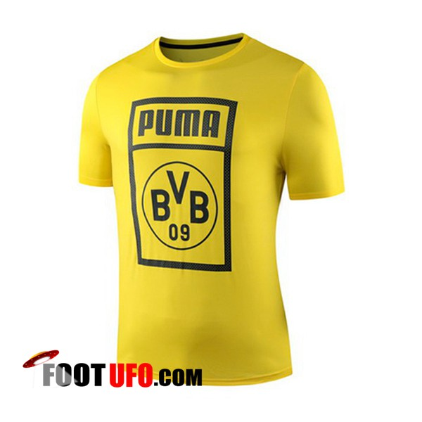 Training T-Shirts Dortmund BVB Jaune 2019/2020