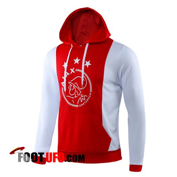 Sweatshirt Training AFC Ajax Rouge 2019/2020