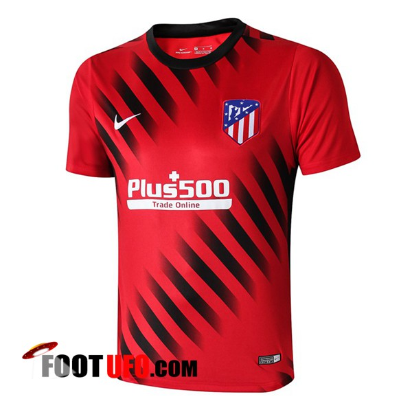Training T-Shirts Atletico Madrid Rouge/Noir 2019/2020