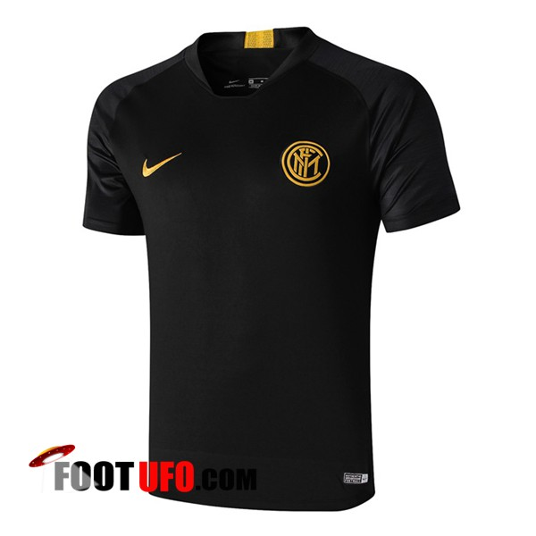 Training T-Shirts Inter Milan Noir 2019/2020
