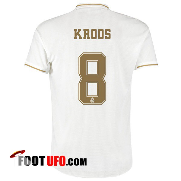 Maillot de Foot Real Madrid (KROOS 8) Domicile 2019/2020