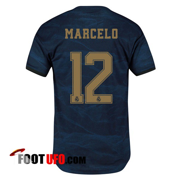 Maillot de Foot Real Madrid (Marcelo 12) Exterieur 2019/2020