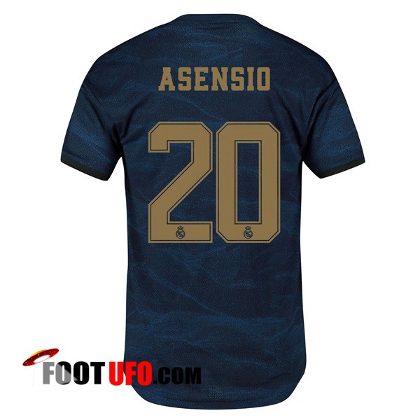Maillot de Foot Real Madrid (ASENSIO 20) Exterieur 2019/2020