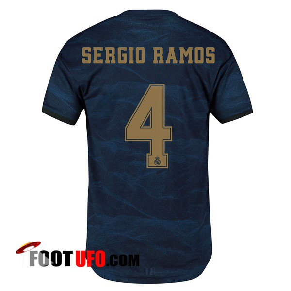 Maillot de Foot Real Madrid (SERGIO RAMOS 4) Exterieur 2019/2020