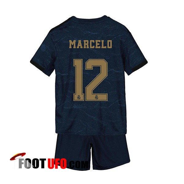 Maillot de Foot Real Madrid (Marcelo 12) Enfant Exterieur 2019/2020