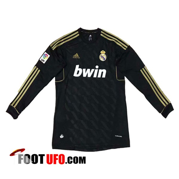 Maillot de Foot Real Madrid Manches longues Exterieur 2011/2012
