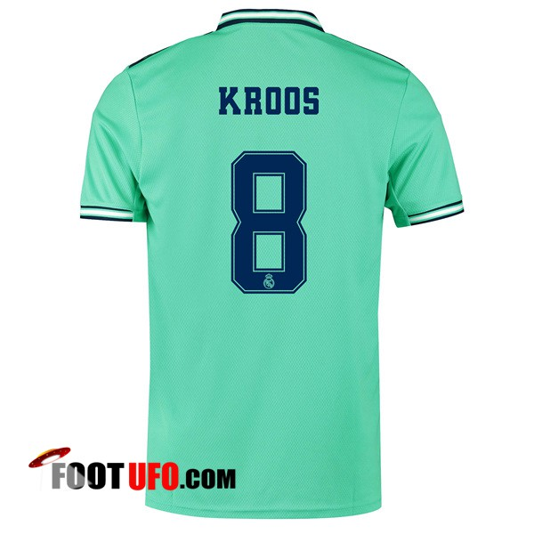 Maillot de Foot Real Madrid (KROOS 8) Third 2019/2020