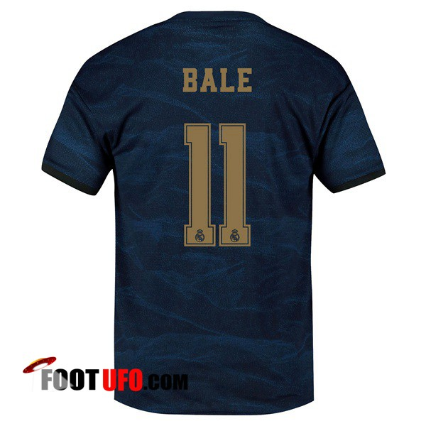 Maillot de Foot Real Madrid (BALE 11) Exterieur 2019/2020