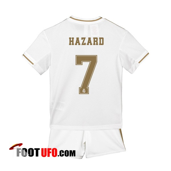 Maillot de Foot Real Madrid (HAZARD 7) Enfants Domicile 2019/2020