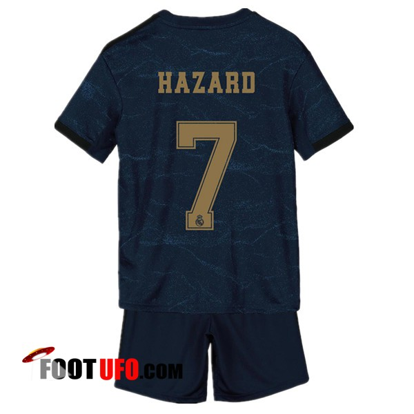 Maillot de Foot Real Madrid (HAZARD 7) Enfants Exterieur 2019/2020