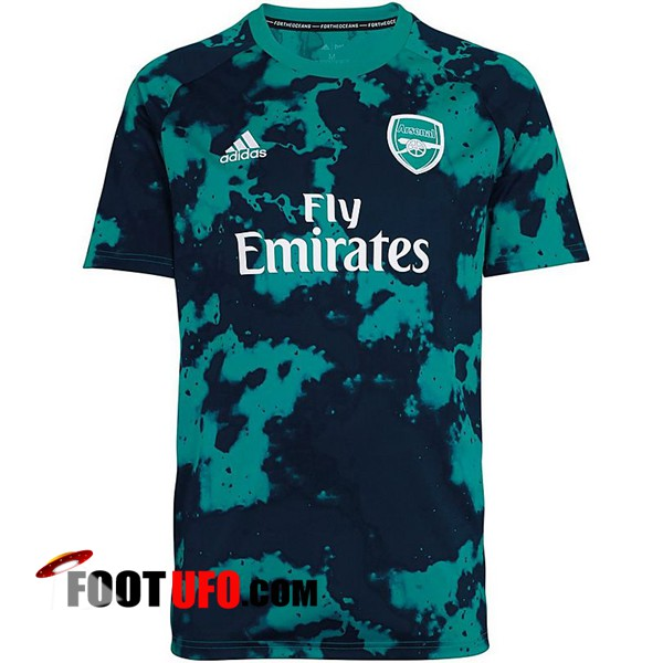 Training T-Shirts Arsenal Noir/Vert 2019/2020