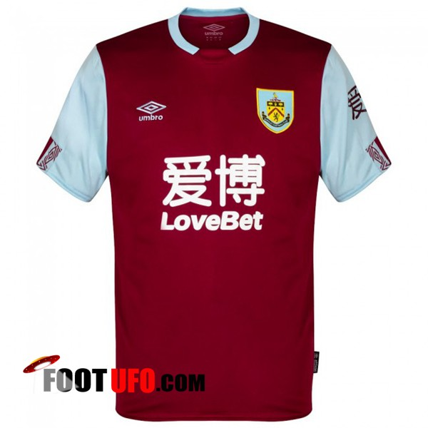 Maillot de Foot Burnley Domicile 2019/2020